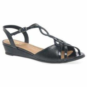 Van Dal  Medlow Womens Wedge Heel Sandals  women's Sandals in Blue