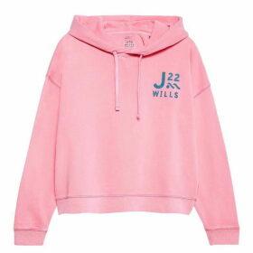 Jack Wills Willenhall Dye Hoodie - Pink 070