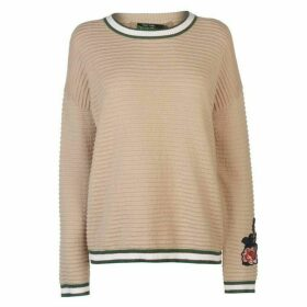 Marc Aurel Rib Flower Knit Jumper