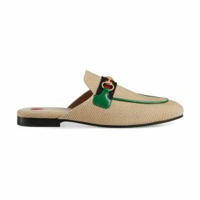 Online Exclusive women's Princetown canvas slipper