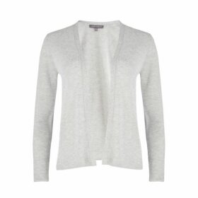 Grey Marl Edge to Edge Cardigan