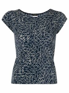 Chanel Pre-Owned short sleeve top - Blue