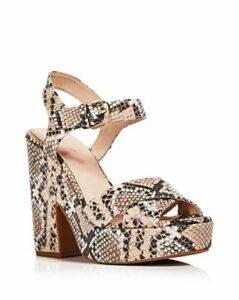 kate spade new york Women's Grace Snake Print Platform Sandals