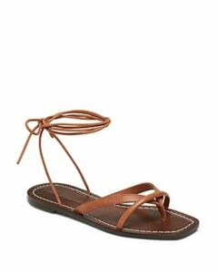 Loeffler Randall Women's Lilla Leather Flat Sandals
