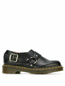 Comme Des Garçons Comme Des Garçons buckle detail ridged sole shoes -