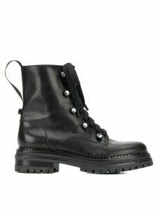 Sergio Rossi Moon biker boots - Black