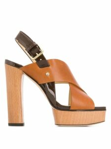 Jimmy Choo Aix sandals - Brown