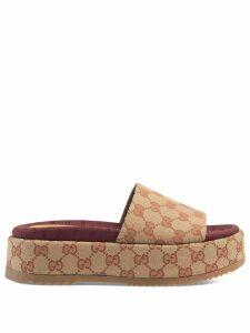 Gucci Original GG slider sandal for women - NEUTRALS