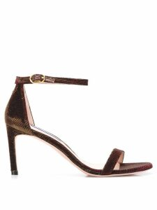 Stuart Weitzman open toe sandals - Red