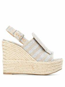 Sergio Rossi Dore sandals - Silver