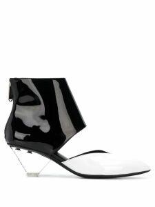 Balmain Livy ankle boots - White