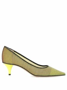 Premiata ribbed detail pumps - Yellow