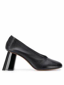 Marni slanted heel pumps - Black