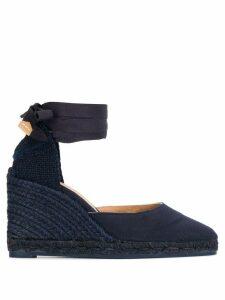 Castañer tie ankle 90 espadrilles - Blue