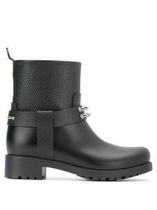 Philipp Plein studded boots - Black