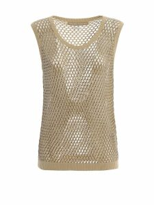 Ermanno Scervino Sheer Knitted Top