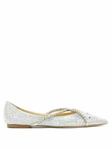 Undercover - David Bowie-print Loop-back Cotton Sweatshirt - Womens - Blue