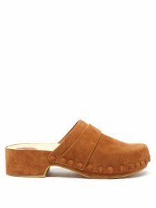 Biyan - Suji Floral-print Silk Blouse - Womens - Navy Multi