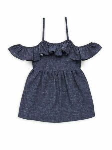 Girl's Bella Denim Dress
