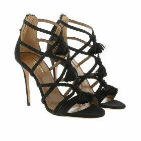 Aquazzura Sandals - Alegria Sandals Suede Black - black - Sandals for ladies