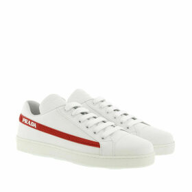 Prada Sneakers - One Sneakers Bianco/Rosso - white - Sneakers for ladies