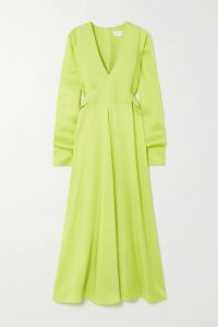 Balenciaga - Triple S Logo-embroidered Leather, Nubuck And Mesh Sneakers - Gray