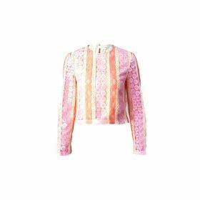Vivienne Hu - Lace Pink Top