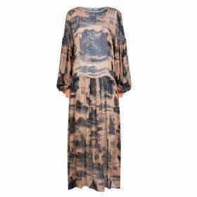 Klements - Dusk Dress Doomed Voyage Print