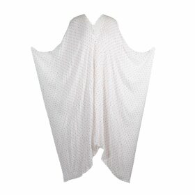 DIANA ARNO - Hanna Asymmetric Top In Blue Stripe