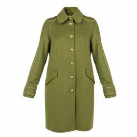 MUZA - Embellished Military Style Coat