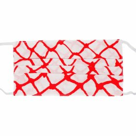Klements - Large Scarf In Cursed Civilisation Print / Cotton Silk