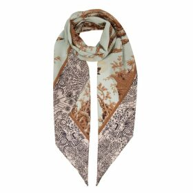 Klements - Razor Scarf In Cursed Civilisation Print