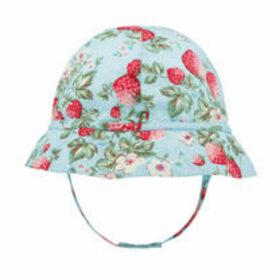 Mini Wild Strawberry Baby Hat