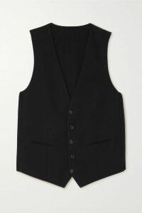 Rebecca de Ravenel - Lolita Polka-dot Silk-crepe Maxi Skirt - Blue