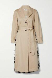 Kalita - Aphrodite Cotton-gauze Maxi Dress - Gray