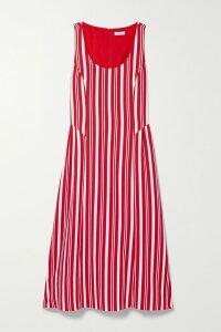 Michael Kors Collection - Draped Wool-blend Mini Dress - Black