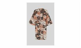 Fern Print Dressing Gown