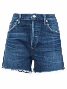 Citizens Of Humanity Marlow stretch denim shorts - Blue