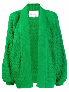 I Love Mr Mittens oversized cardigan - Green