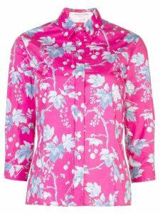 Carolina Herrera floral print shirt - PINK