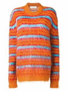 Marni knitted jumper - ORANGE