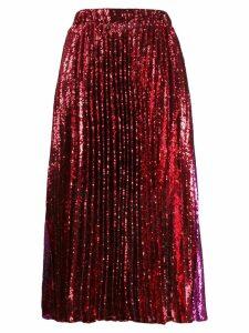 Philosophy Di Lorenzo Serafini sequin skirt - Red