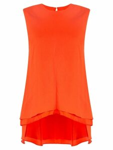 Sies Marjan tiered hem blouse - Orange