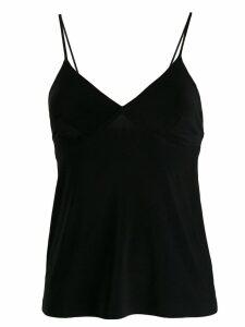 Norma Kamali v-neck camisole - Black