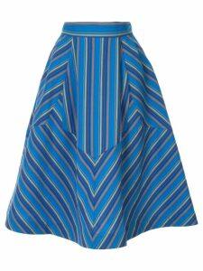 Rosie Assoulin Batman skirt - Blue