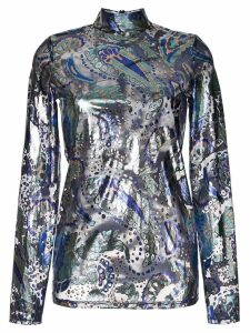 Alice Mccall Florette metallic top - Blue