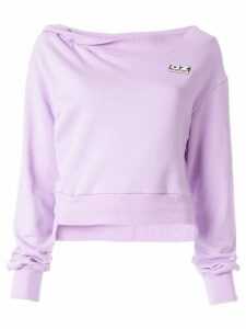 Ground Zero logo sweatshirt - PURPLE