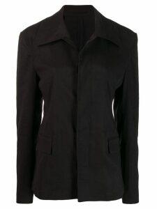 Golden Goose short trench coat - Black