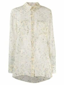 Dorothee Schumacher floral print blouse - Yellow