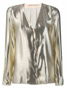 Indress metallic shirt - SILVER